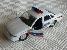 Road Champs Ford Crown Victoria Port Authority Police Diecast 1997 1:43 Scale