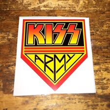 2 KISS ARMY Decals Stickers Gene Simmons Paul Stanley