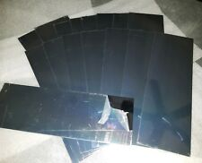 """New listing  00004000 Grade A chrome steel plates, .02"""" x 4"""" x 12"""" inches, never used"""