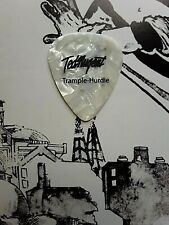 TED NUGENT Trample-Hurdle Tour white marble guitar pick