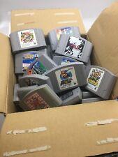 Lot of 50 Japanese Nintendo 64 Video Games US seller N64 Huge Collection Mario
