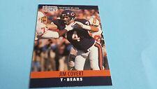 1990 PRO SET FOOTBALL JIM COVERT CARD #51***CHICAGO BEARS***
