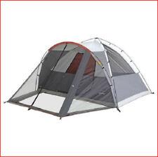 Embark Dome Tent + Screened Porch - Sleeps 6 - Setup 3 min Setup  6' Height Gray