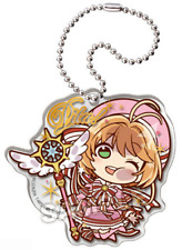 Card captor Sakura anime Clamp Pita! Deforme Acrylic Keychain - battle costume
