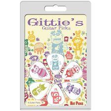 Hot Picks Gittie's Cree-Tures Guitar Picks, 1GCREERCS01