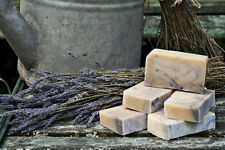 Cyril's Soap Shed Handmade Natural Goats Milk Soap with Lavender Essential Oil