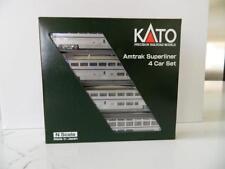 KATO N Scale Amtrak Superliner 4-Car Phase IVb Set B #106-3516,  NIB