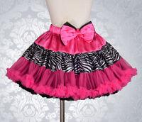 Two-ways Wearable Girls Pettiskirt Petticoat Tutu Skirt Size 12 Months - 9 #007