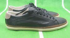 Lacoste Bocana 6 SRM Leather Men's Shoes BLACK/BONE  7-25srm22252 Size  8