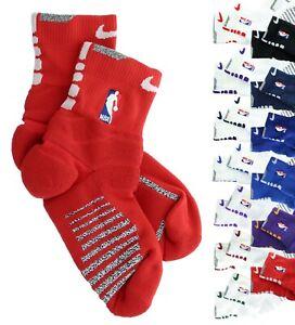 Nike NBA Authentics Basketball Ankle Socks, Cushioned Moisture Wicking PSX822