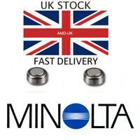 2x Battery for Minolta X Series Cameras X300s X370 X570 XD9 XD7 1.5V Batteries