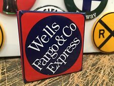 WELLS FARGO & CO EXPRESS RAILROAD full backed refrigerator MAGNET