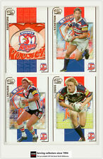 2005 Select NRL Power Series Trading Cards Base Team Set Roosters(12)**