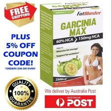 FATBLASTER GARCINIA MAX HCA 60 CAPSULES FAT BLASTER LOWER FAT STORAGE OXIDATION