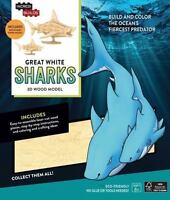 Insight Editions (Cor)-Incredibuilds Great White Sharks (UK IMPORT) ACC NEW