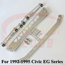 BWR CONTROL ARM SUBFRAME BRACE TIE BAR KIT FOR 92 93 94 95 HONDA CIVIC EG LCA SL