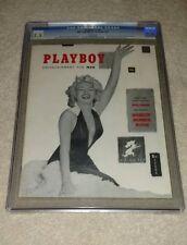 DECEMBER 1953 PLAYBOY MAGAZINE CGC 5.5 MARILYN MONROE FIRST ISSUE 1ST ORIGINAL