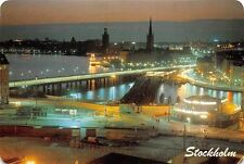 Sweden Stockholm View from the katarina Elevator General view Harbour Ship