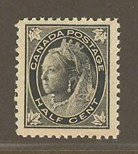 Canada # 66, 1897 ½c Queen Victoria - Maple Leaf Issue, Unused NH