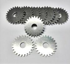 10 Stück Edelstahl Zahnräder, Grillantrieb, Zahnrad, Grillzubehör 10 mm Bohrung