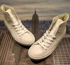 7ed81e2925fc Converse Chuck Taylor All Star II 2 Hi High Top Triple White Size 10  156940c New