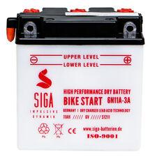 Novelbat 6N11A-1B Motorradbatterie 6V 11Ah 88A