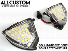 LED WHITE UNDER MIRROR FLOOR LIGHT BULBS for VW GOLF 5 V 2003-08 GTI TDI R32 VR6