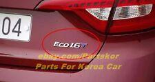 For 2015+ HYUNDAI LF SONATA i45  1.6 T ECO Turbo Emblem Genuine Part OEM