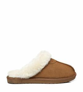 Ugg Australian Shepherd Morgan Scuff   Sheepskin Upper - Women - House Shoes