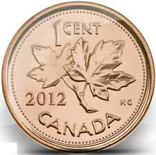 2012 Uncirculated Canadian Penny $0.01 Non-Magnetic  **LAST YEAR OF THE PENNY**