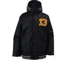BURTON Men's MONGREL Snow Jacket - True Black - Small - NWT
