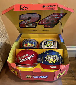 Jeff Gordon New Era Snapback Hats 95 97 98 01 Limited Edition 150/240 Mint Cond.