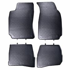 FLOOR MATS FIT VW VOLKSWAGEN PASSAT B5 (1996-2005) RUBBER BLACK TAILORED