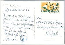 Sport  ATHLETICS -  POSTAL HISTORY - ETHIOPIA: stamp on POSTCARD 1963