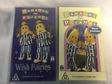 Bananas In Pyjamas - VHS X 2 - ABC Video - Wish Fairies & Show Business