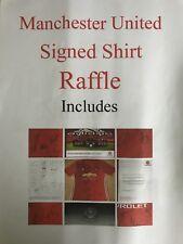 Manchester United  signed Shirt Raffle