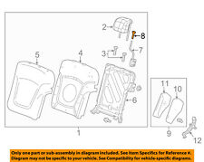 Chevrolet GM OEM 13-15 Spark Rear Seat-Latch Knob 95418014