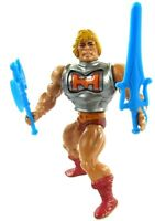 MOTU Vintage Battle Armor He-Man 1983 Complete W/Blue Masters Of The Universe