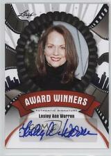 2012 Leaf Pop Century Award Winners #AW-LAW Lesley Ann Warren Auto Card k4p