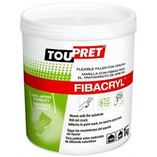 1kg Toupret Fibacryl White Flexible Repair Filler Ready Made Tub