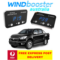 Windbooster 9-mode throttle controller to suit RG Holden Colorado 2012 Onwards