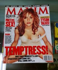 Brittany Murphy Maxim Magazine 7/01 #43 Mike Tyson Summer Altice c57