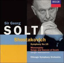 Shostakovich: Symphony No. 15; Mussorgsky: Songs and Dances of Death (CD,...