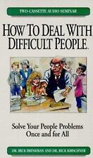 How To Deal With Difficult People Audio Book on Cassette