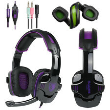 SADES SA930 Stereo Surround Pro Gaming Headset Headphone for PC Xbox one PS4 USA