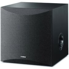"Yamaha Black 8"" Powered Subwoofer"