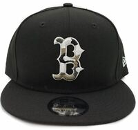 Boston Red Sox New Era 9Fifty Black Camo Trim On Field Snapback Hat Cap