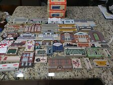 The Cat'S Meow Village Mixed Series. Lionel Huge lot of 54 Pieces.