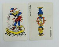 Details about  /2 Single VINTAGE Swap//Playing Cards INDIAN CHILDREN Gerda Christoffersen Art