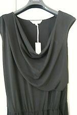 BNWT Gray & Willow elegant drape black jumpsuit UK12 RRP £79 BARGAIN REDUCED 75%
